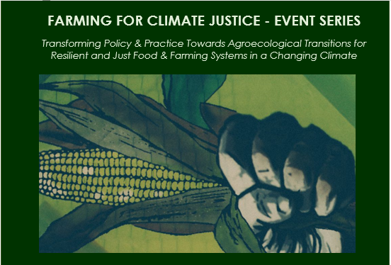 Exciting webinar series on agroecology